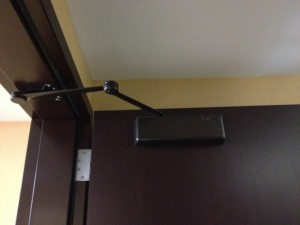 Black Door Closer
