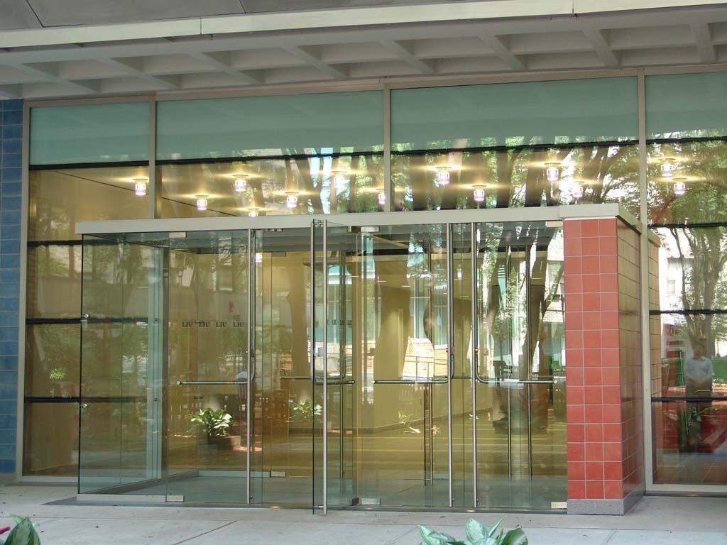 Glass door for Entrance door and glass