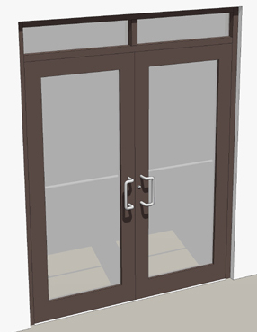 Single Glass Storefront Door glass storefront door replacement and entrances with design ideas